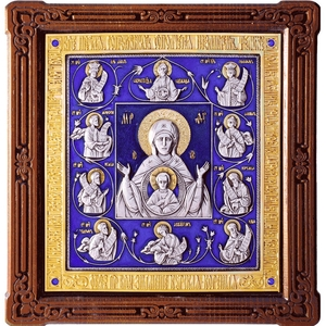 Icon of the Most Holy Theotokos of the Sign - A121-7