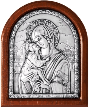 Icon of the Most Holy Theotokos of Don - A136-1