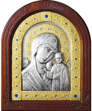 Icon of the Most Holy Theotokos of the Sign - A157-6