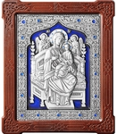 Icon of the Most Holy Theotokos the Queen of All - A158-3