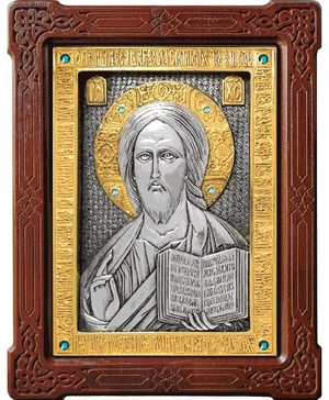 Icon of Christ the Pantocrator - A79-6