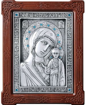 Icon of the Most Holy Theotokos of Kazan - A80-2