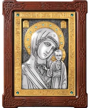 Icon of the Most Holy Theotokos of Kazan - A80-6