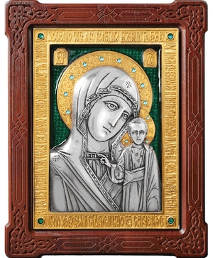 Icon of the Most Holy Theotokos of Kazan - A80-7