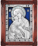 Icon of the Most Holy Theotokos of Vladimir - A86-3