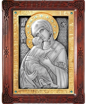 Icon of the Most Holy Theotokos of Vladimir - A86-6