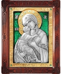 Icon of the Most Holy Theotokos of Vladimir - A86-7