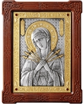 Icon of the Most Holy Theotokos of the Seven Arrows - A87-6