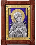 Icon of the Most Holy Theotokos of the Seven Arrows - A87-7