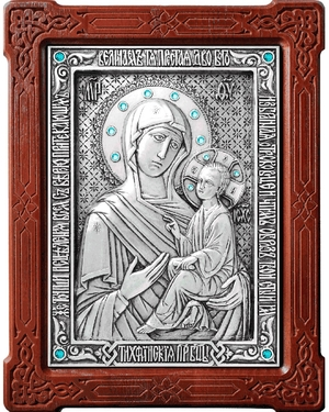 Icon of the Most Holy Theotokos of Tikhvin - A91-2