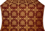 Donetsk silk (rayon brocade) (claret/gold)
