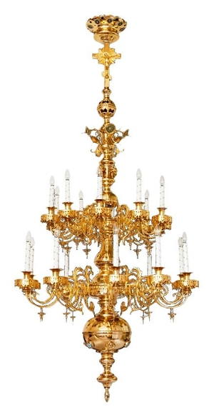 Church chandelier no.R3 (20 candles)