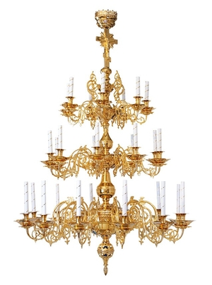 Church chandelier no.R2 (28 candles)