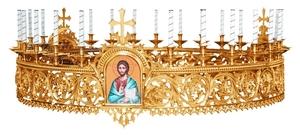 Church horos (chandelier) no.R1 (24 candles)