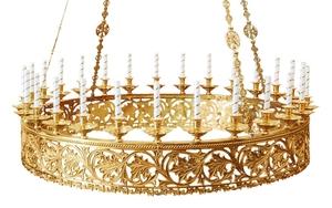 Church horos (chandelier) no.R2 (27 candles)