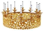Church horos (chandelier) no.R3 (12 candles)