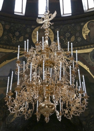 Church chandelier no.R3 (35 candles)
