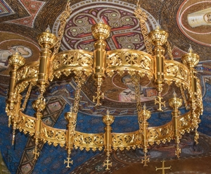 Church horos (chandelier) no.R9 (12 candles)