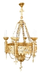 Church chandelier no.R3 (6 candles)