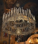 Church chandelier no.R2 (101 candles)