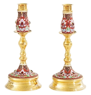 Table candle stand no.13 (pair)