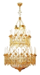 Two-level church chandelier - 5 (30 lights)
