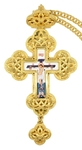 Pectoral cross no.128 with chain