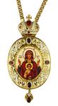 Bishop panagia no.1010 with chain