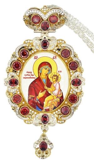 Bishop panagia no.653 with chain