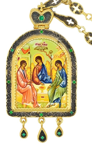 Bishop panagia no.1045 with chain
