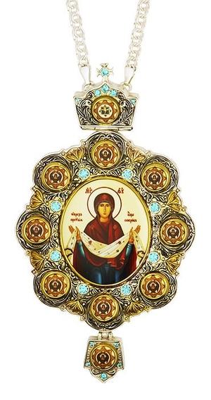 Bishop panagia no.987 with chain