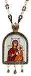 Bishop panagia no.1045L with chain
