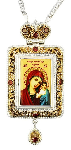 Bishop panagia no.1079 with chain