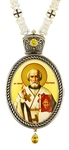 Bishop panagia no.1145 with chain 95