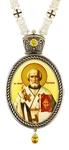 Bishop panagia no.1145 with chain 95
