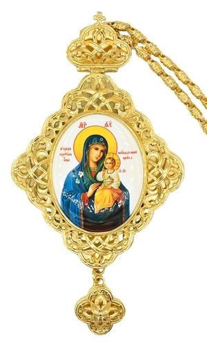 Bishop panagia (encolpion) no.670