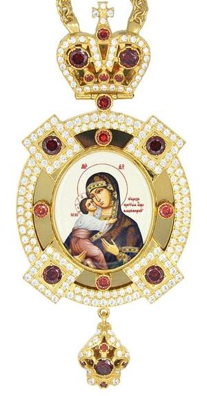 Bishop panagia (encolpion) no.1205