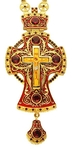 Pectoral priest cross no.38 with chain