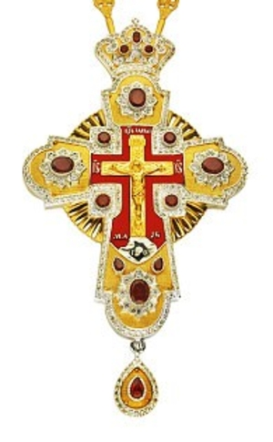 Pectoral priest cross no.86 with chain