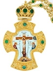Pectoral priest cross no.101 with chain