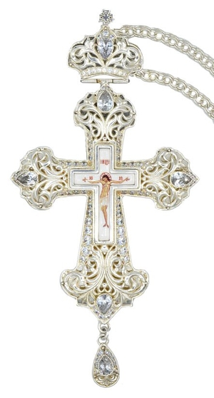 Pectoral priest cross no.130 with chain
