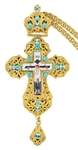 Pectoral priest cross no.164 with chain