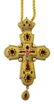 Pectoral priest cross no.209 with chain