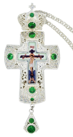 Pectoral priest cross no.243 with chain