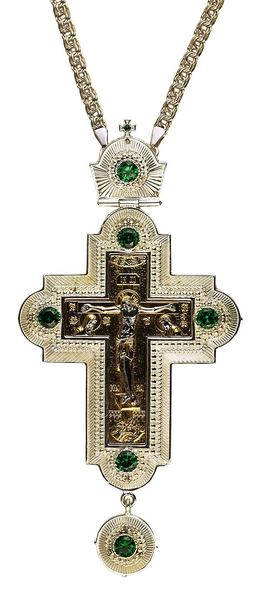 Pectoral priest cross no.249 with chain