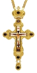 Pectoral priest cross no.258 with chain