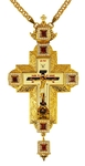 Pectoral priest cross no.265 with chain