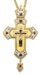 Pectoral priest cross no.266 with chain