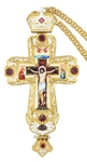 Pectoral priest cross no.291 with chain