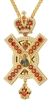 Pectoral priest cross no.308 with chain